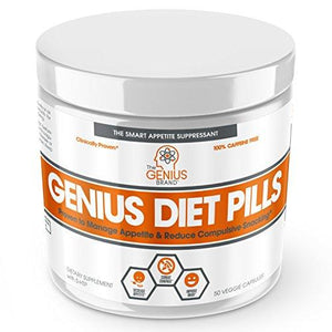 GENIUS DIET PILLS - The Smart Appetite Suppressant for Safe Weight Loss,