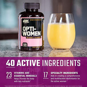 Opti-Women, Womens Daily Multivitamin Supplement