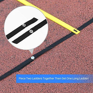 GHB Pro Agility Ladder Agility Training Ladder Speed Flat Rung