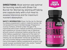Load image into Gallery viewer, Sheer Fat Burner for Women 2.0 - Fat Burning Thermogenic Supplement