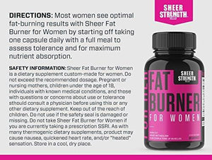 Sheer Fat Burner for Women 2.0 - Fat Burning Thermogenic Supplement