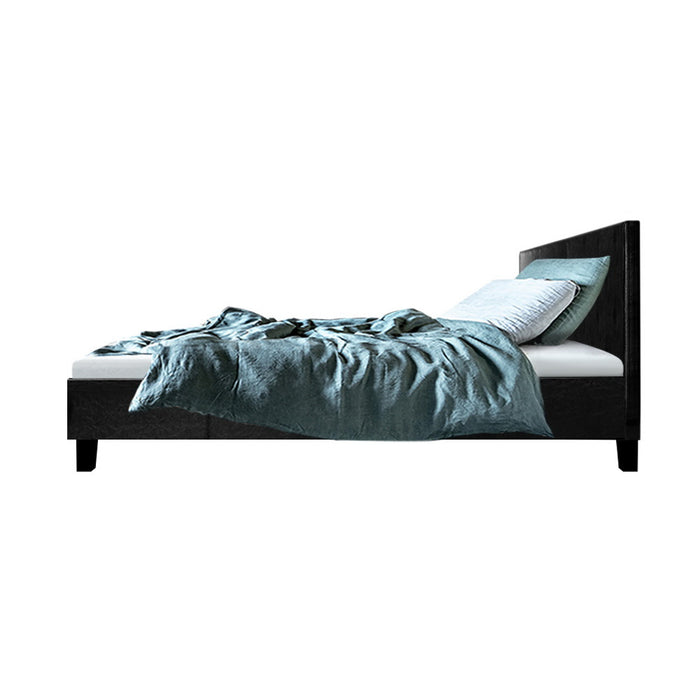 Monterey Bed Frame with Headboard | Single | Onyx
