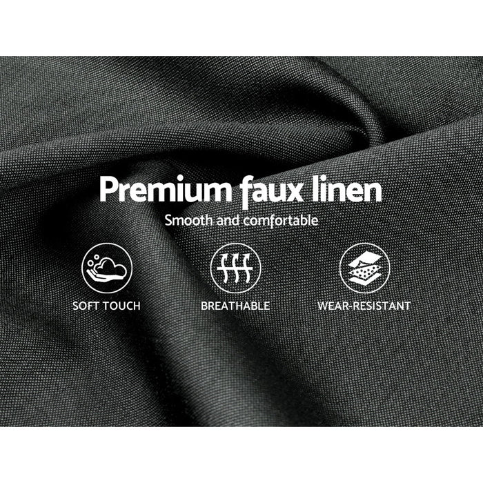 Ironbark Bed Frame with Headboard & Drawers | King | Gunpowder