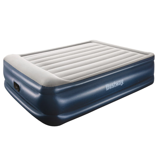Bestway Mariner Inflatable Air Bed Mattress with built in Auto Pump | Queen | Ink