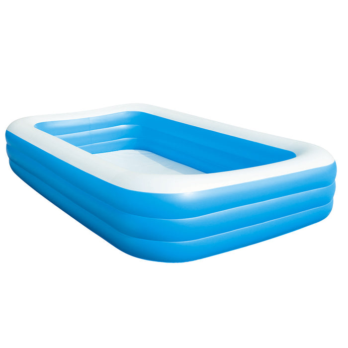 Bestway Inflatable Kids Above Ground Swimming Pool | Blue