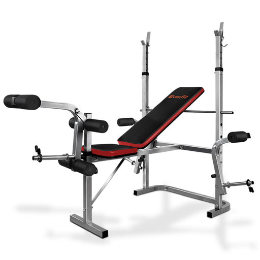 PowerCore 'Everfit' 7-In-1 Weight Bench Multi-Function Power Station | Grey