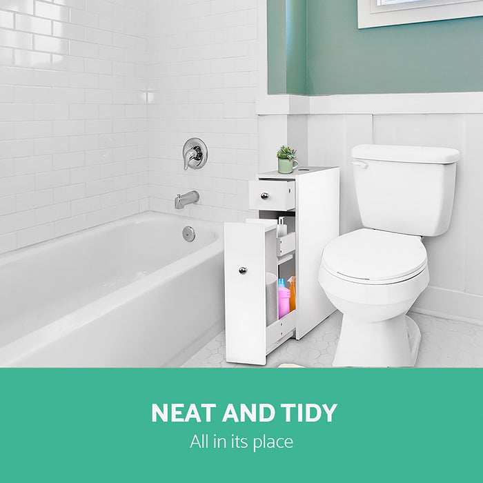 Norway Bathroom or Multi Purpose Storage Cabinet | White