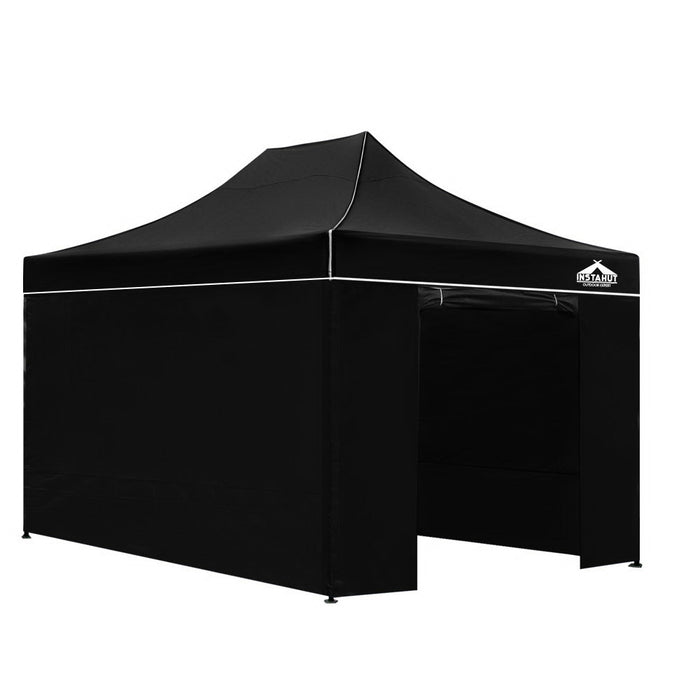 Admiral by Instahut 3m x 4.5m Outdoor Gazebo | Black