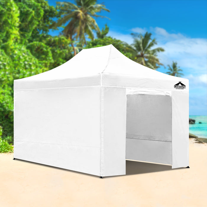 Admiral by Instahut 3m x 4.5m Outdoor Gazebo | White