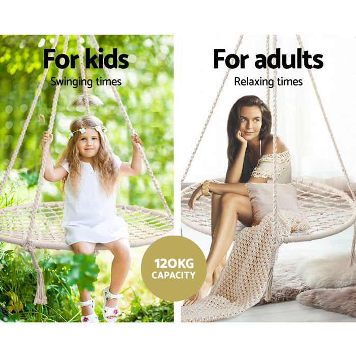 Norway Kids Nest Swing Hammock Chair | Natural