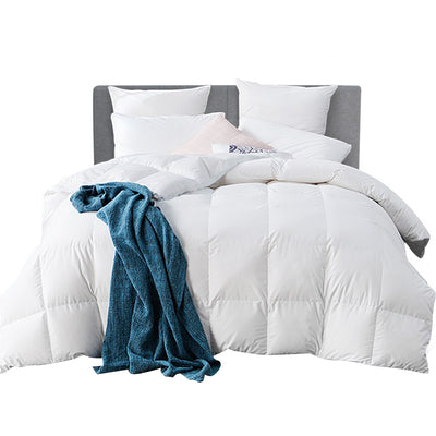 Comfort Sleep by Giselle 500gsm Goose Down Quilt | Super King | White