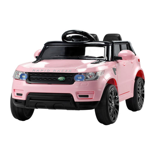 Range Rover Inspired Kids Ride On Car with Remote Control |  Soft Pink (Limited Edition)