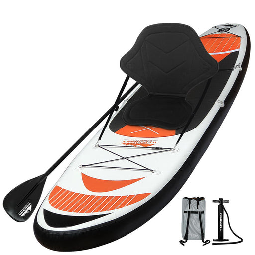 Weisshorn 11FT Stand Up Paddle Board [Inflatable SUP Surfboard] | Orange
