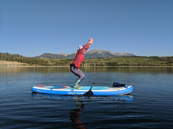 Six Simple SUP Yoga Suggestions