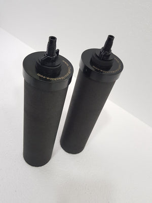 Black Carbon Replacement Water Filters (Set of 2)