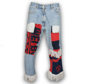 Destroyed Scarf Jean