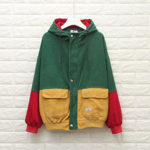 BONNIE block colour Jacket