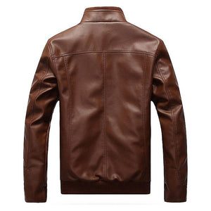 TOM Male Leather Jacket
