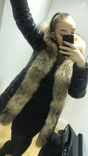 LOLA Leather Fur Jackets
