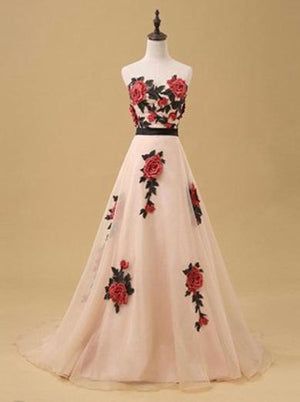 ERIN FLORAL BALL DRESS