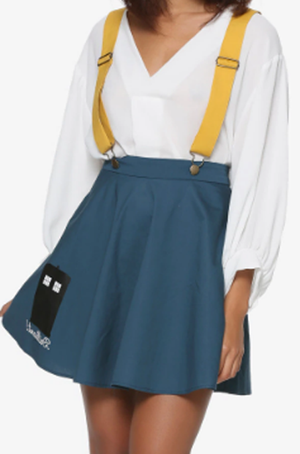 IRIS SUSPENDER OVERALLS DRESS