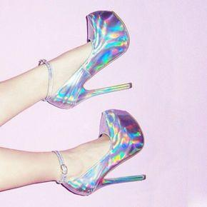 SHINTA CRYSTAL GLITTER SHOES
