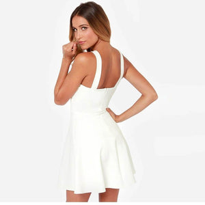 Backless Beach Dress