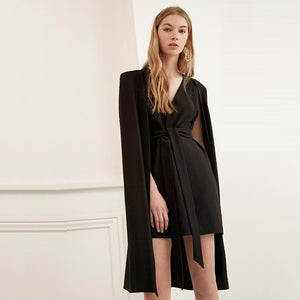 ZARA CAPE MINI DRESS