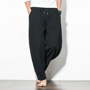 POPPY PANTS MEN LOOSE DRAWSTRING