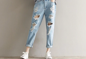 JULIA Ripped Jeans Women