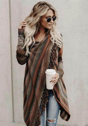 SARAH Knitted Cardigan Sweater
