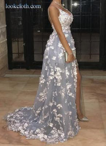 Angel lace Prom Dress