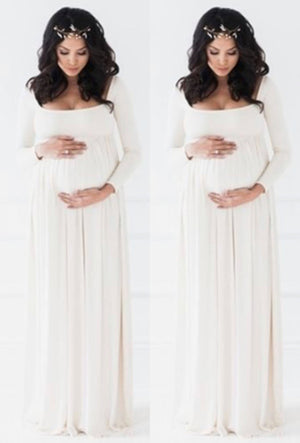 ball gown maternity dress