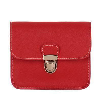 The small leather flap handbags