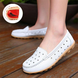 The Genuine Leather Vintage Loafers Shoes