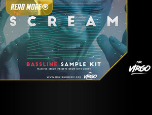 Scream Bassline Sample Kit