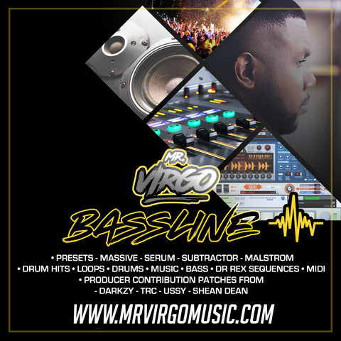 UK Bassline Sample Pack-Mr-Virgo Jamie-Duggan DJ-Q Skepsis Darkzy Crucast
