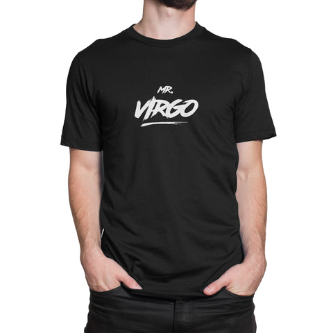 Mr Virgo T-Shirt Black