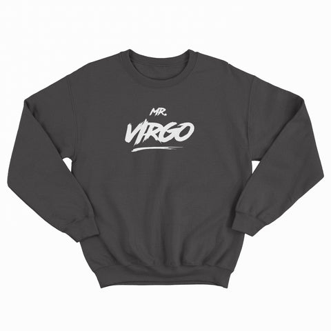 Mr Virgo Jumper Black