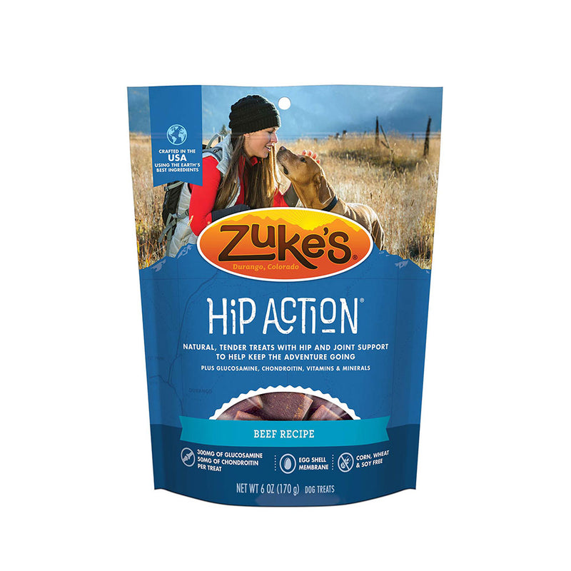 Zuke's® Hip Action® Beef Recipe Dog Treats 6 Oz