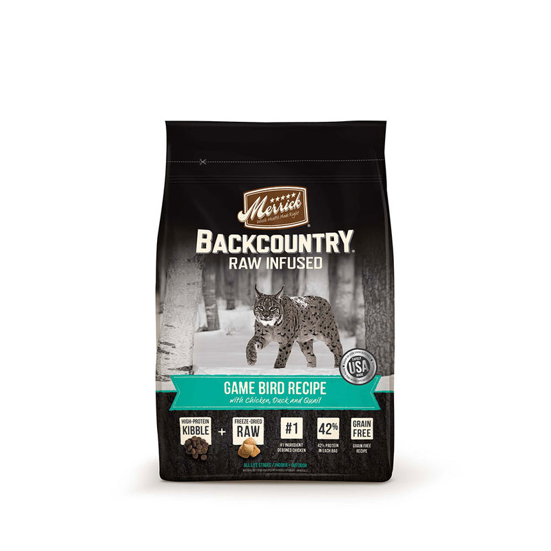 Merrick® Backcountry® Raw Infused Game Bird Recipe Cat Food 10 Lbs