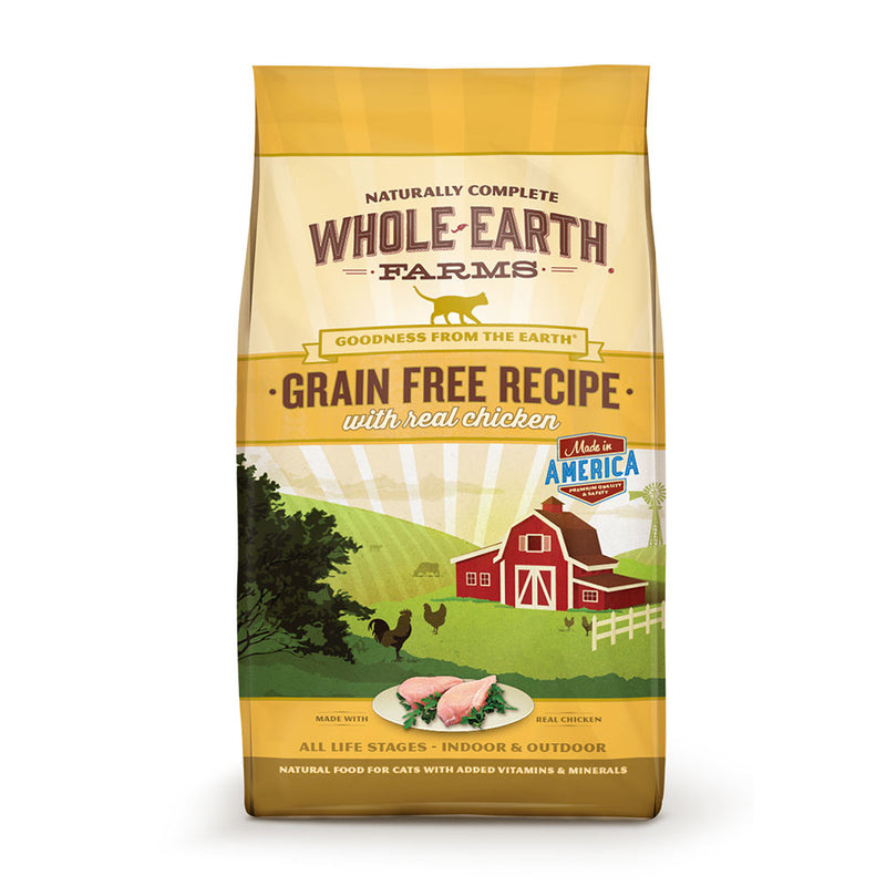 Whole Earth Farms® Goodness from the Earth™ Grain Free Real Chicken Recipe Cat Food 5 Lbs