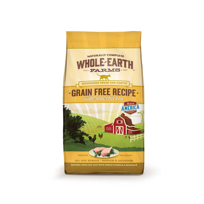 Whole Earth Farms® Goodness from the Earth™ Grain Free Real Chicken Recipe Cat Food 10 Lbs