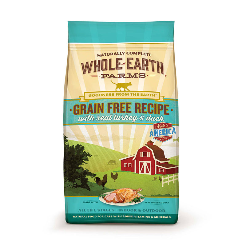 Whole Earth Farms® Goodness from the Earth™ Grain Free Real Turkey & Duck Recipe Cat Food 10 Lbs