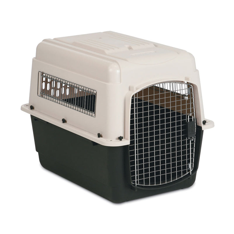 Petmate® Ultra Vari Kennel Taupe/Black Color 30-50 Lbs