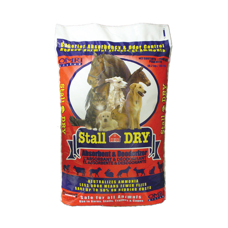 Stall DRY® Absorbent & Deodorizer 40.12 Lbs
