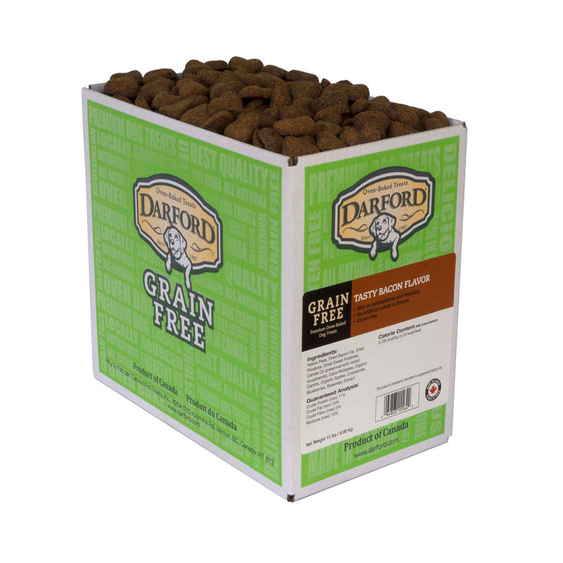 Darford® Grain Free Tasty Bacon Flavor Dog Treats 15 Lbs