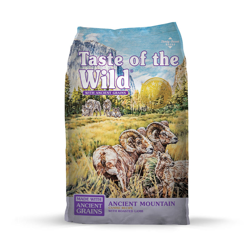 Taste of the Wild® Ancient Mountain with Roasted Lamb Dog Food 5 Lbs