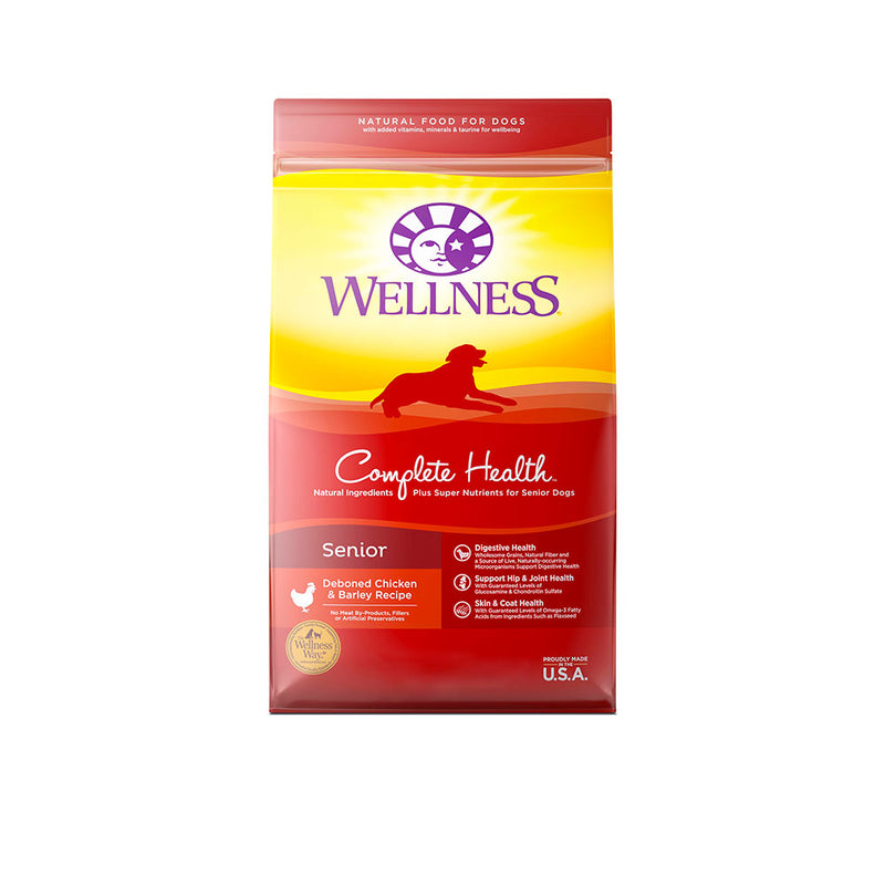 Wellness® Complete Health™ Deboned Chicken & Barley Recipe Senior Dog Food 5 Lbs