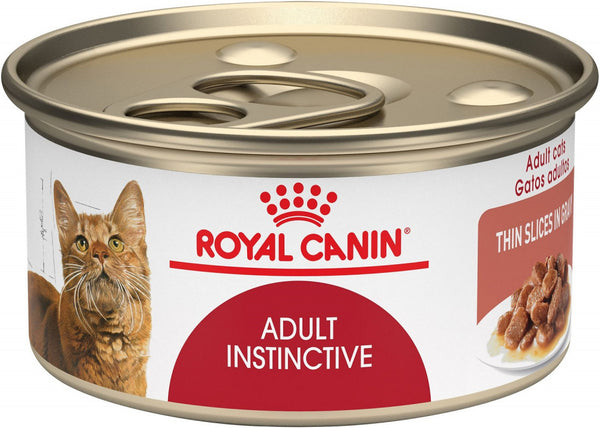 Royal Canin Adult Instinctive Thin Slices in Gravy Canned Cat Food